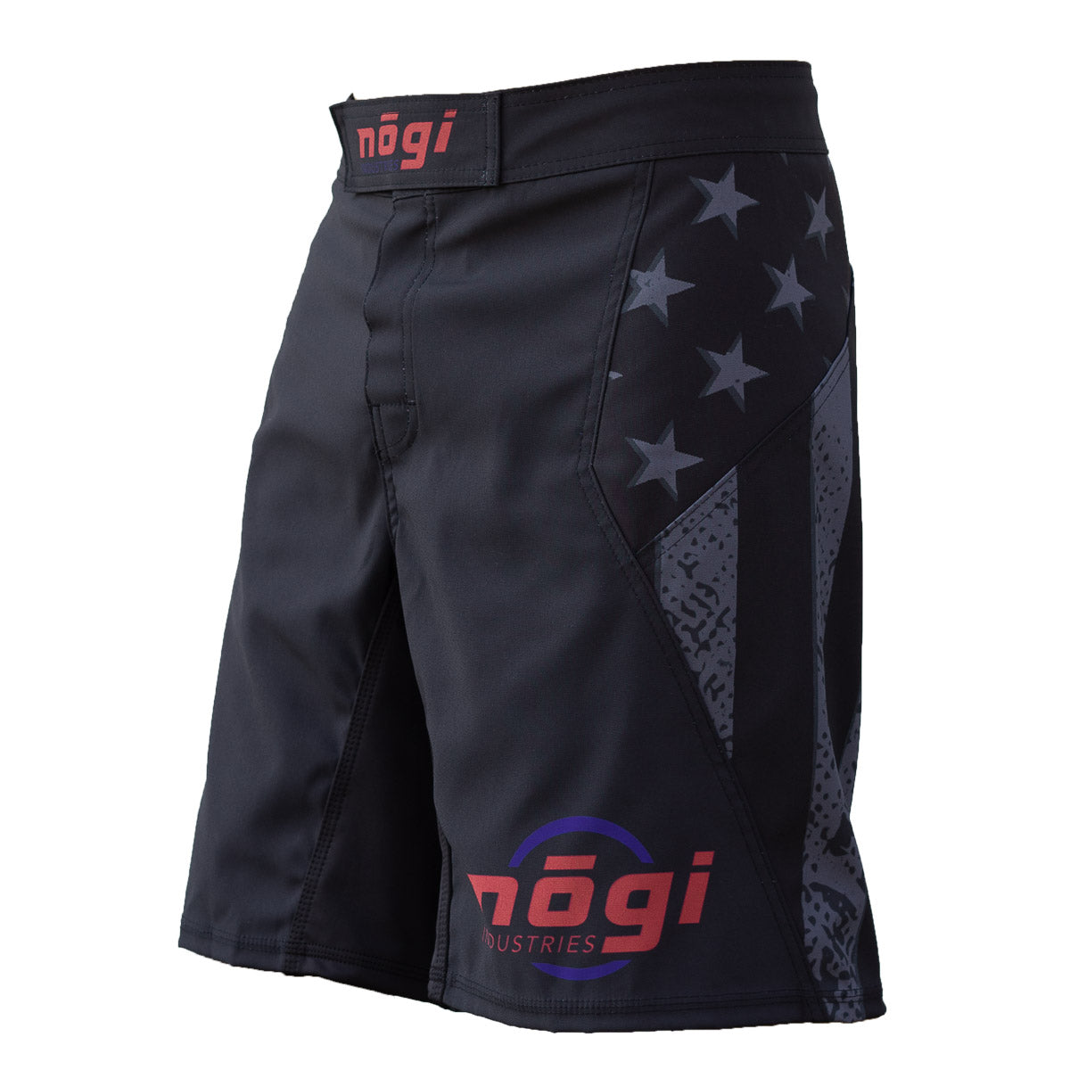 Nogi Industries Phantom 2.0 No Quarter Fight Grappling Shorts Left Side