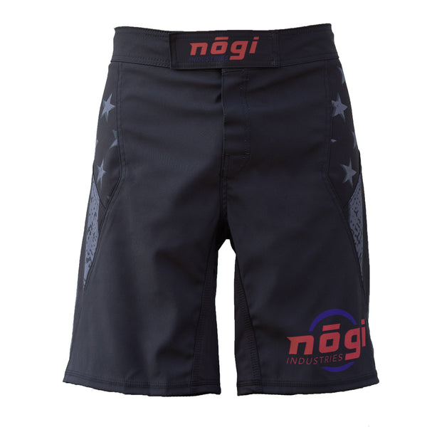 Nogi Industries Phantom 2.0 No Quarter Fight Grappling Shorts Front Side