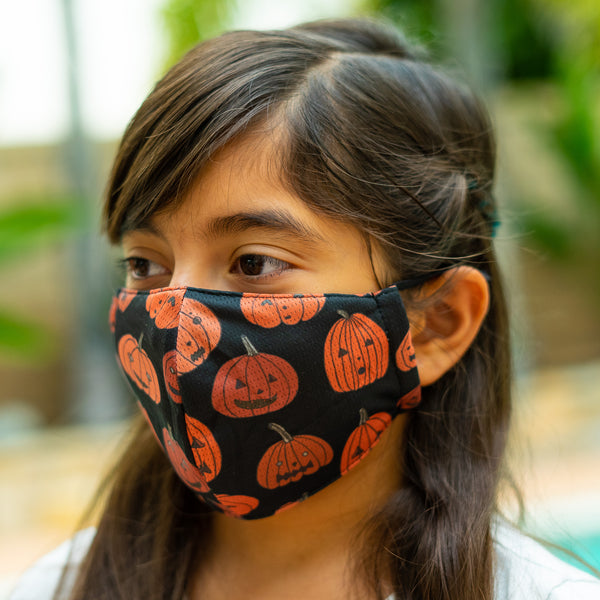 Defender Pro Halloween  Pumpkin Mask Kids and Adults