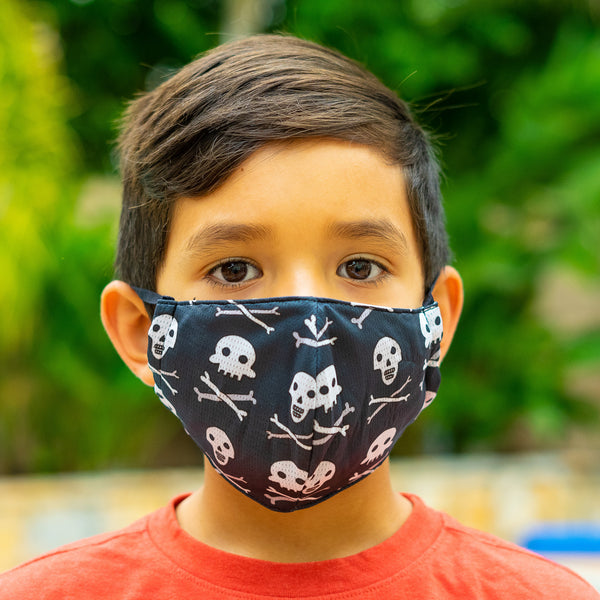 Skeleton Mask Face Covering Kids and adults