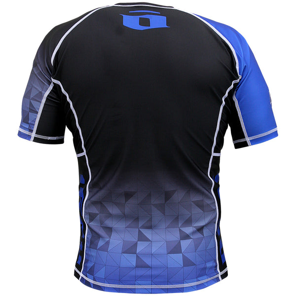 Velox 2018 Competitor Rank Short Sleeve Rashguard White, Blue, Purple, Brown and Black - NoGi USA