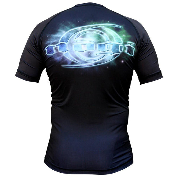 Cosmos Rash Guard by Nogi Industries Short Sleeve(Artist Series) Rear view