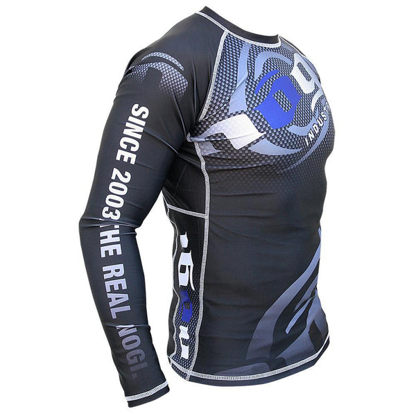 Carbon Long Sleeve Rashguard by Nogi Industries - BLACK Right View