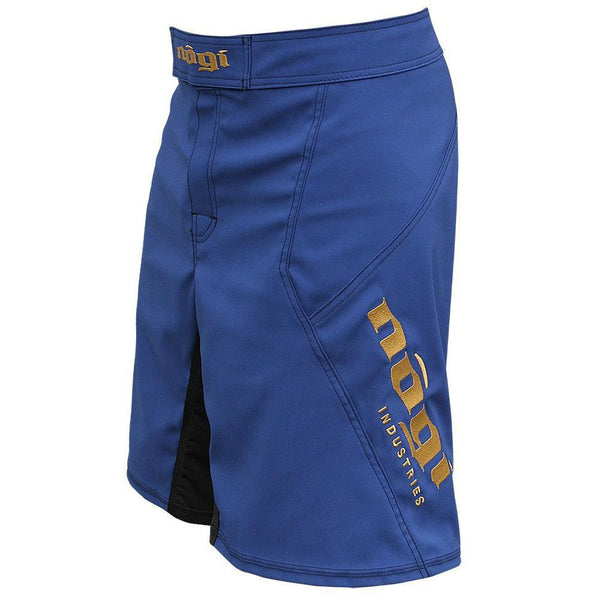 Phantom 3.0 Fight Shorts - Blue/Bronze by Nogi Industries - MADE IN USA - NoGi USA