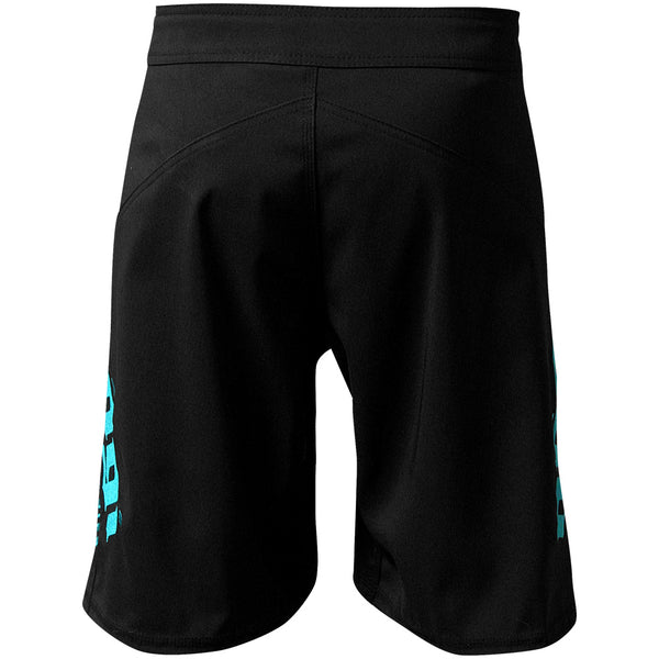Phantom 3.0 Fight Shorts - Black and Mint by Nogi Industries - MADE IN USA ?? - Limited Edition Right View