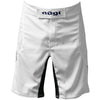Phantom 3.0 Fight Shorts - White by Nogi Industries - MADE IN USA Front View