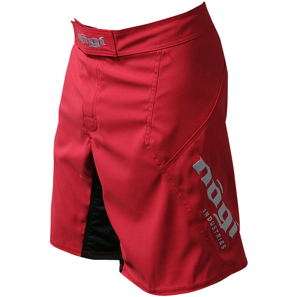 Phantom 3.0 Fight Shorts - Candy Apple Red by Nogi Industries - MADE IN USA ?? - Limited Edition Left View