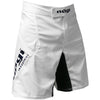 Phantom 3.0 Fight Shorts - White by Nogi Industries - MADE IN USA rear view