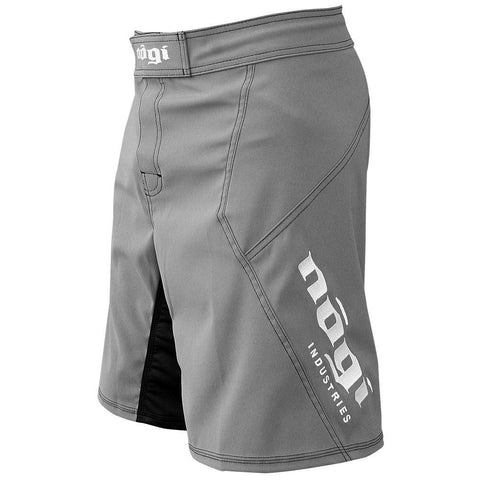 Phantom 3.0 Fight Shorts - Gray by Nogi Industries - MADE IN USA - NoGi USA