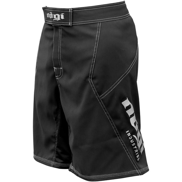 Phantom 3.0 Fight Shorts - Black by Nogi Industries Made in the USA Left Side