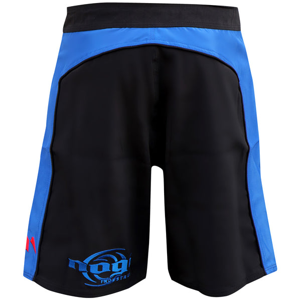 Volt 3.0 Extra Duty Rank Fight Shorts - Blue, Rear