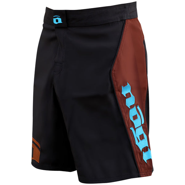 Volt 3.0 Extra Duty Rank Fight Shorts - Brown, Left