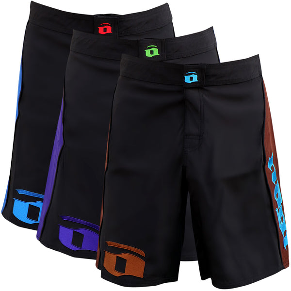 Volt 3.0 Extra Duty Rank Fight Shorts - Blue, Purple, Brown