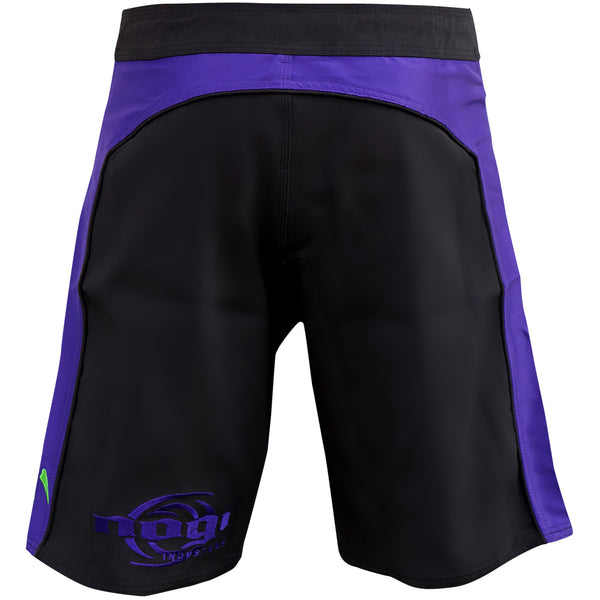 Volt 3.0 Extra Duty Rank Fight Shorts - Purple, Rear