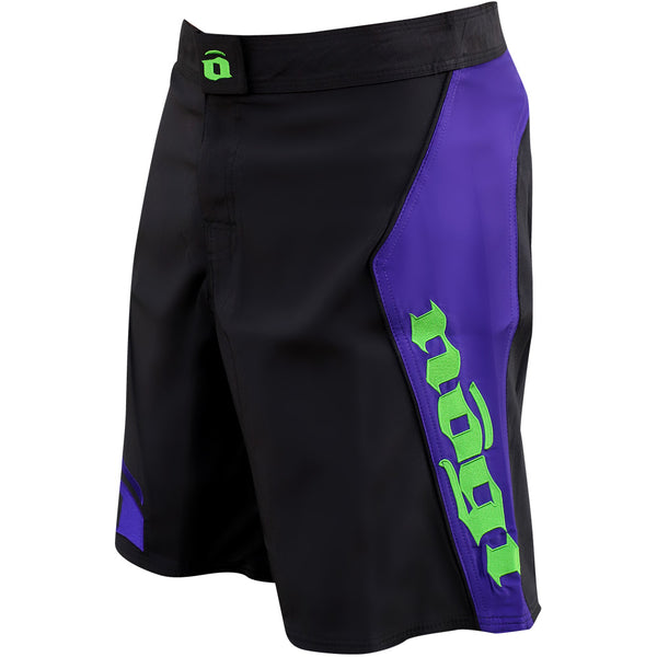 Volt 3.0 Extra Duty Rank Fight Shorts - Purple, Left