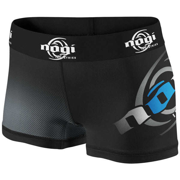 Nogi Vale Tudo Shorts Black and Blue