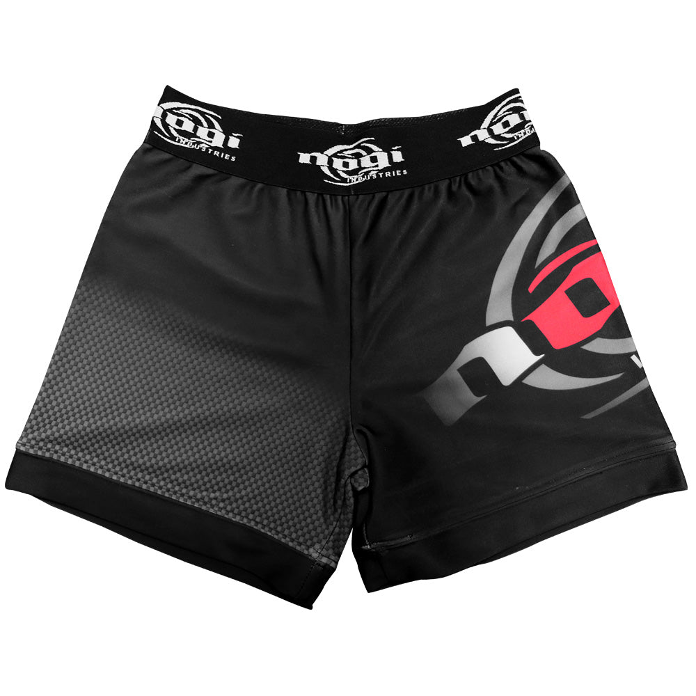Nogi Vale Tudo Shorts Black and Red
