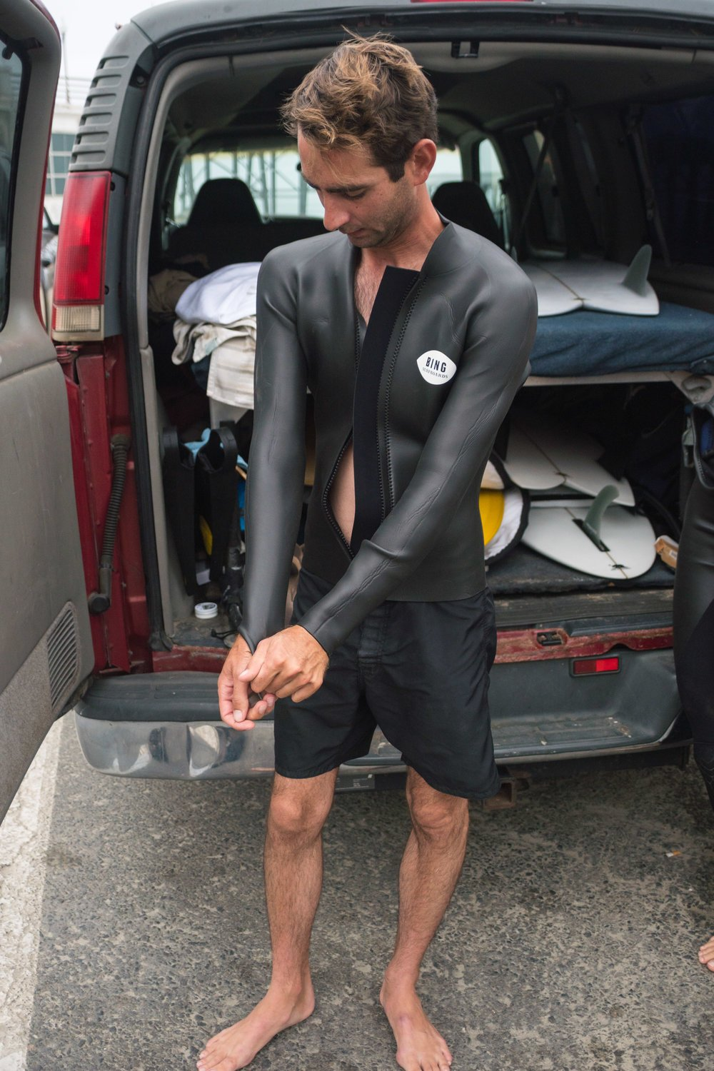 Bing Wetsuits and New Board Models: Concave Keel and Bing Foil 2017