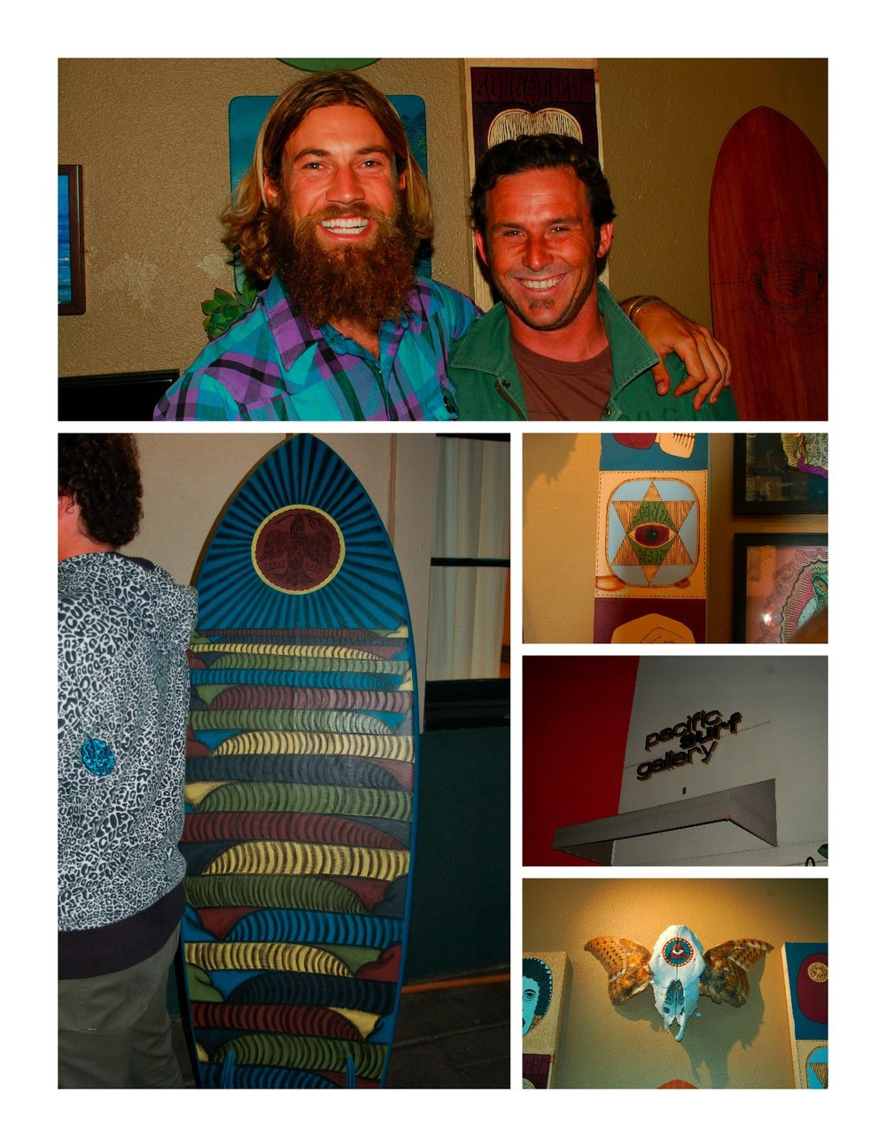 Chris Del Moro Hosts One Awesome Art Show