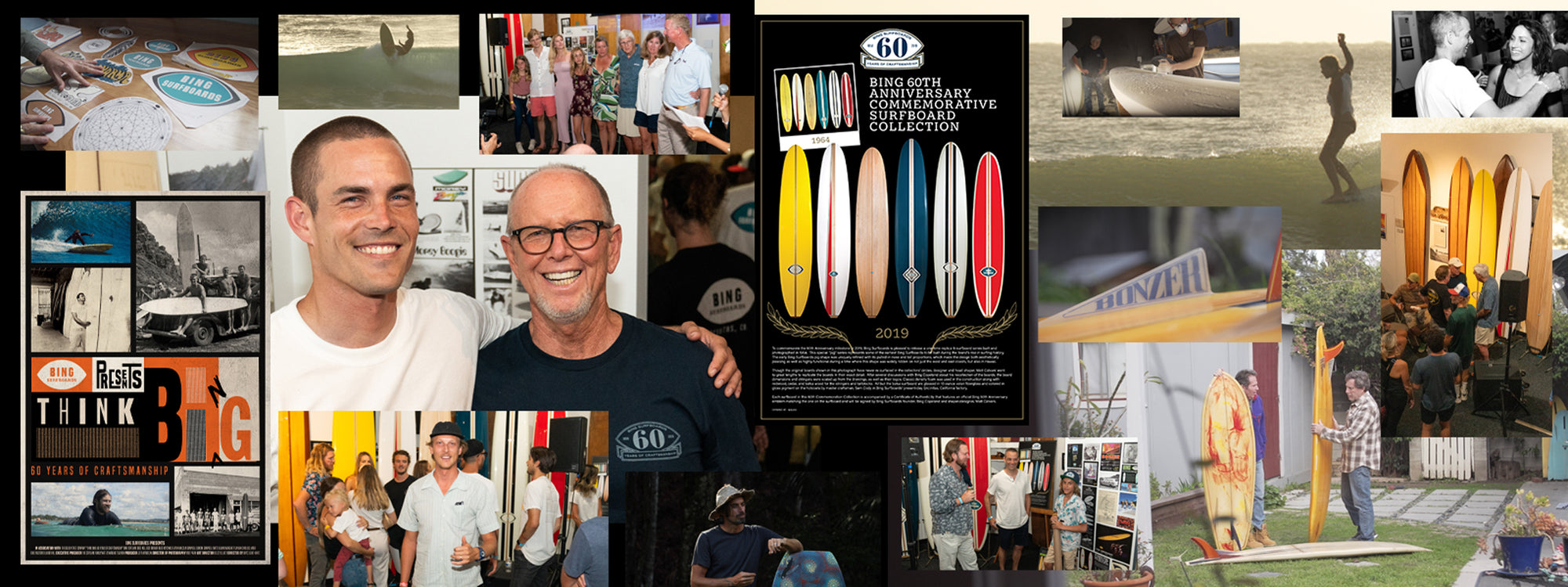 BING 60TH Celebration + Video Premiere of 'THINK BING'  at Surfing Heritage and Culture Center