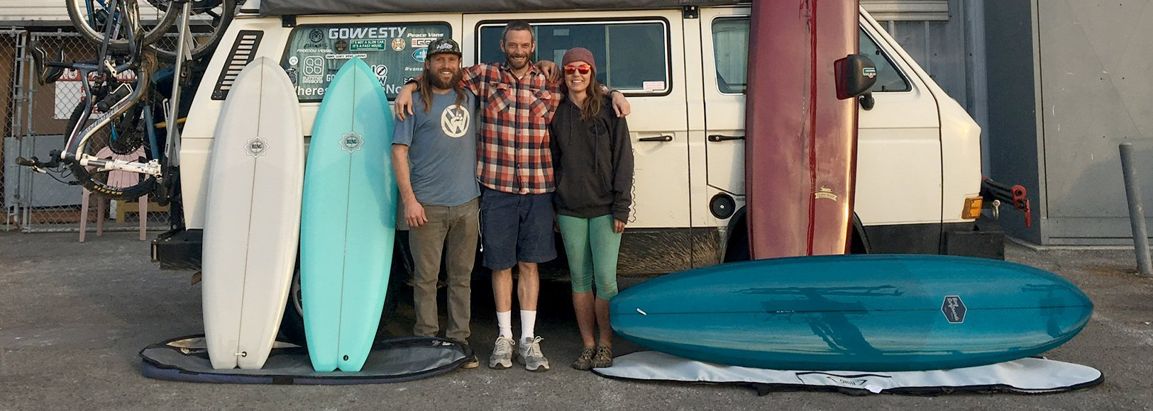 Adventure to Baja with Where's My Office Now + Bing Surfboards + Go Westy Campers
