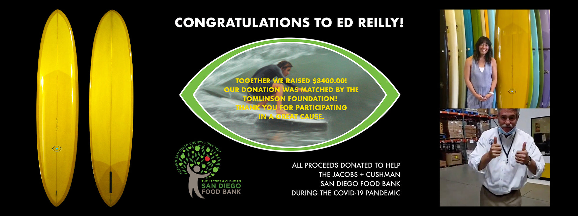 Congratulations to Ed Reilly for Winning the Bing Pig Performer!