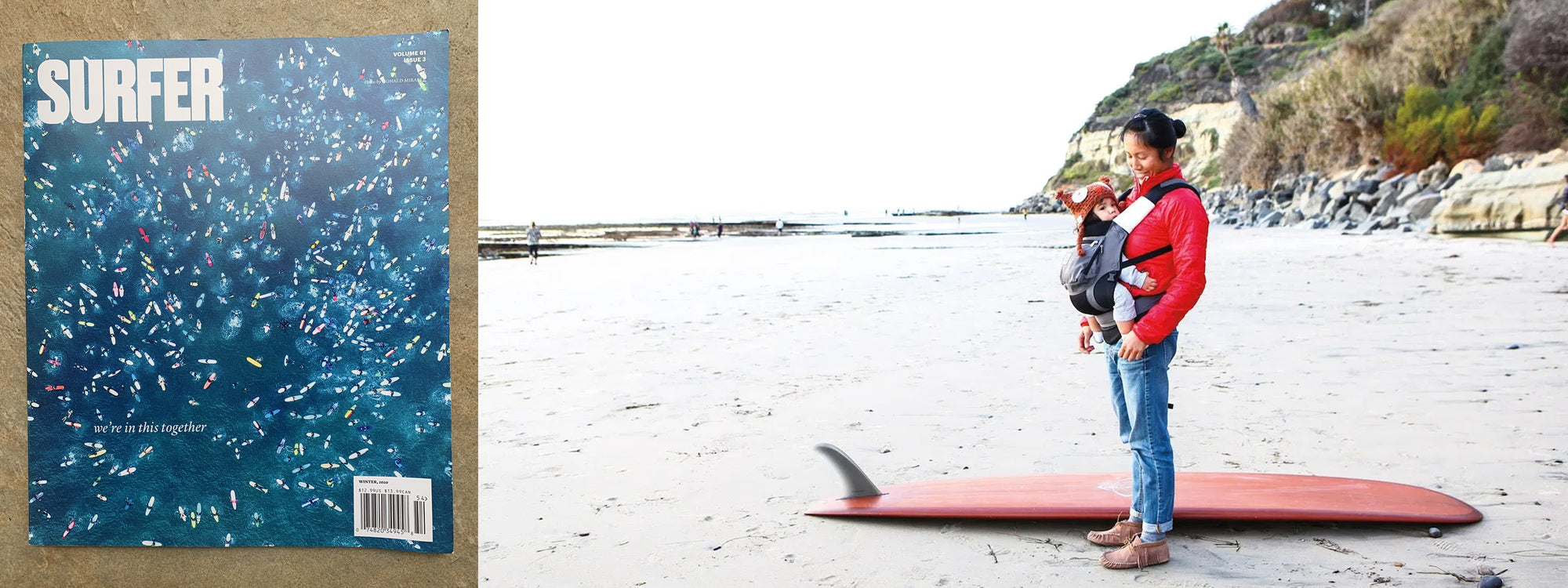 SURFING + MOTHERHOOD