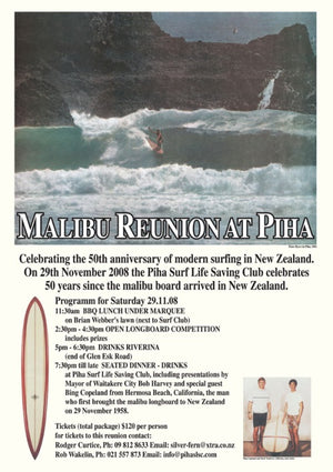 Malibu Reunion at Piha, New Zealand