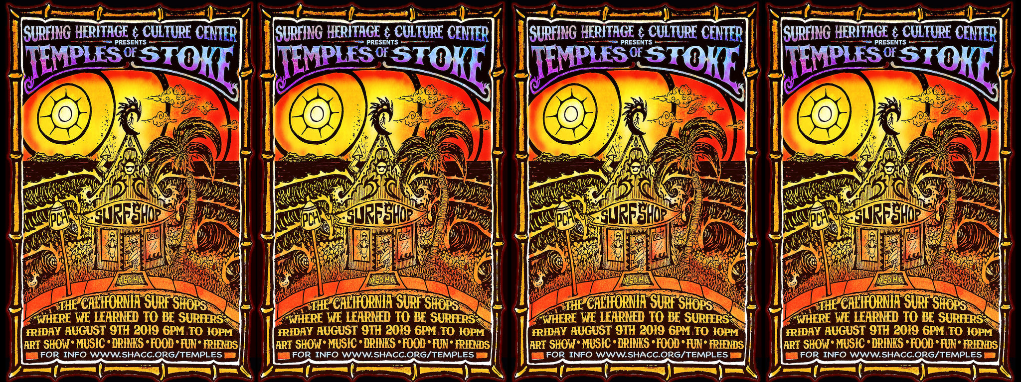 Temples of Stoke at Surfing Heritage and Culture Center