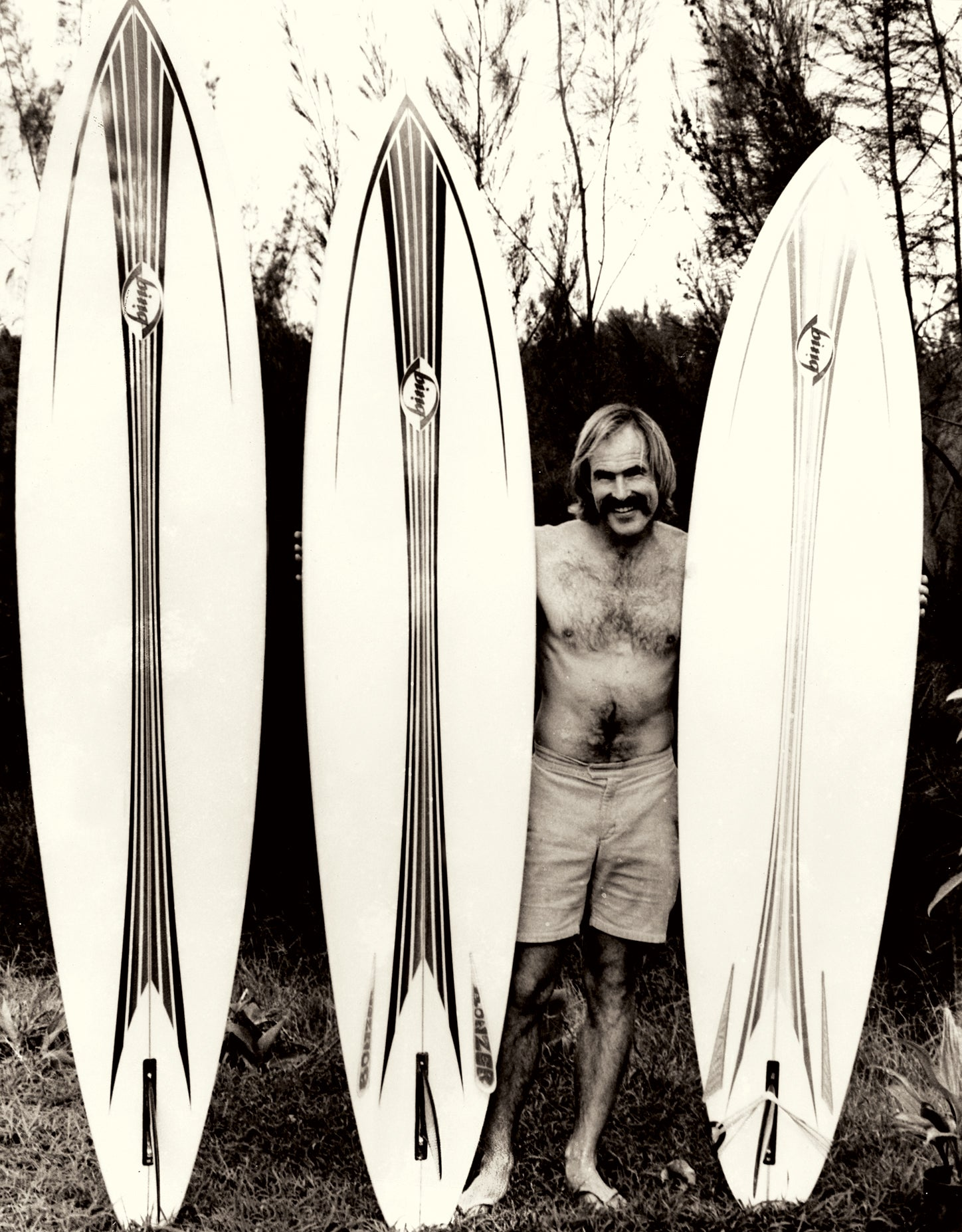 Bing Surfboards Bonzers with Mike Eaton