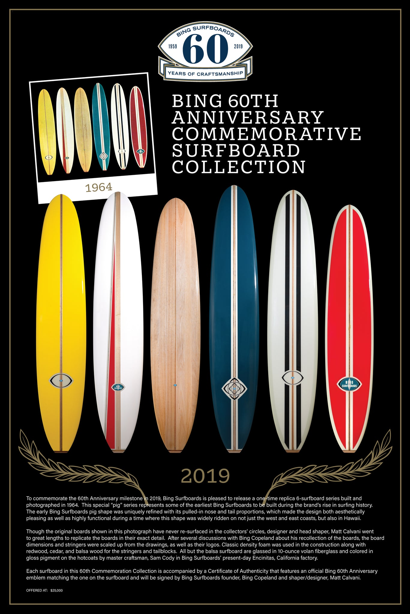 Bing Surfboards Replica Series