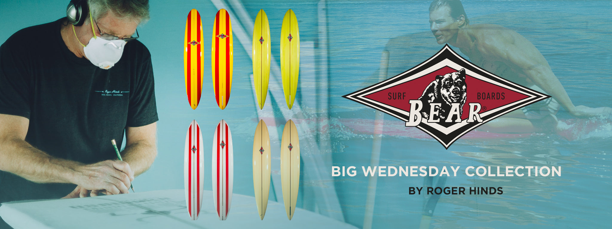 Big Wednesday Collection by Roger Hinds