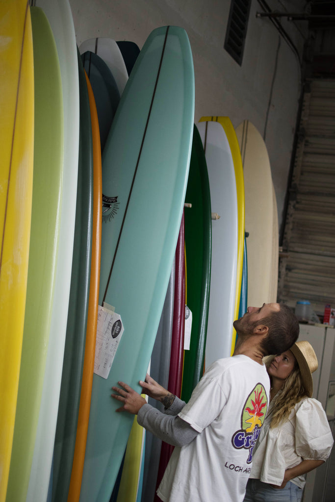 Bing Surfboards Factory