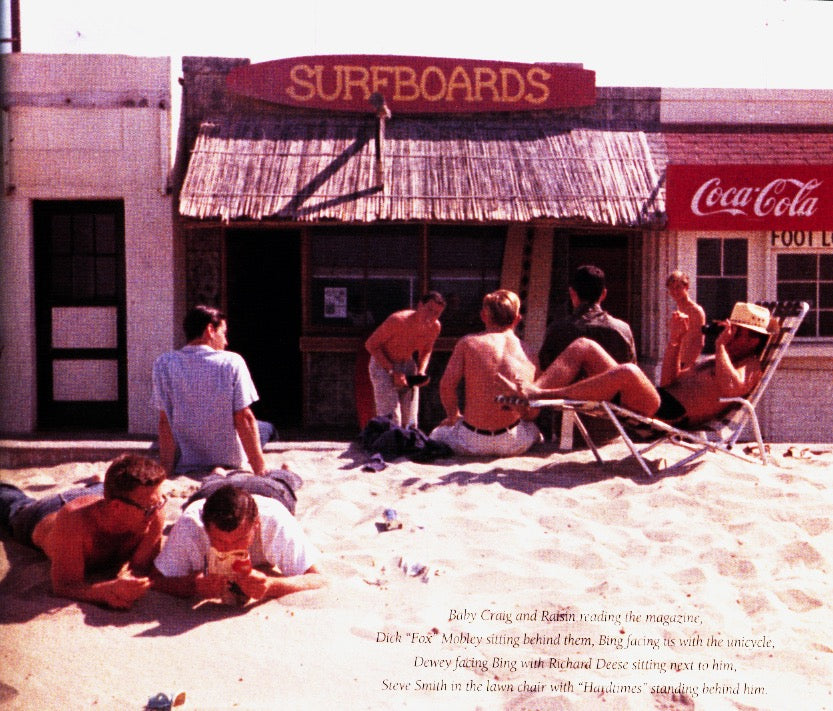 Bing Surf Shop in 1959