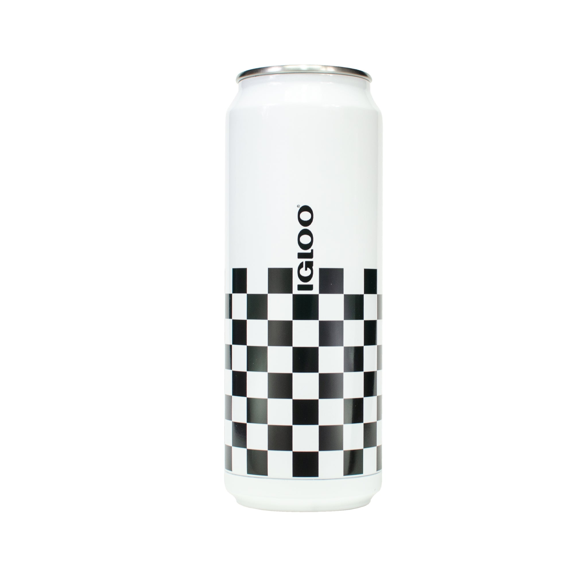 CHECKERED CAN 16 OZ