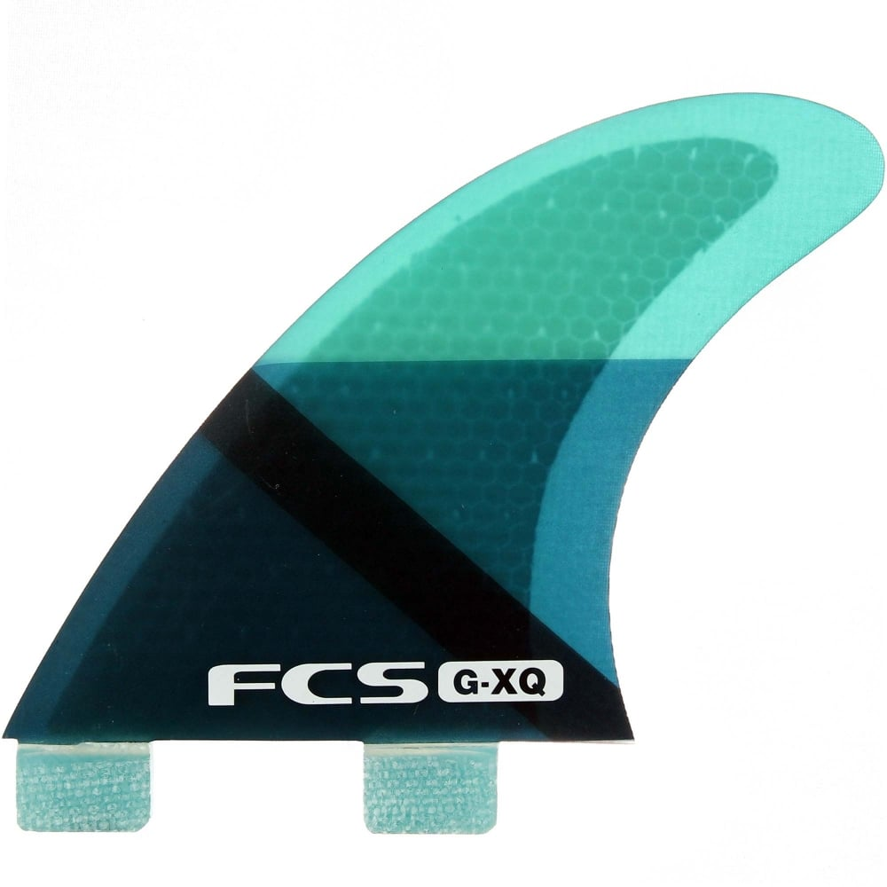 FCS G-XQ Rear Fins Blue Slice