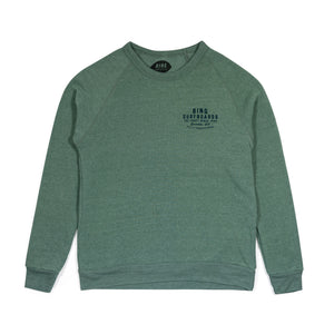 QUALITY MANUFACTURING ECO SWEATSHIRT DUSTY PINE