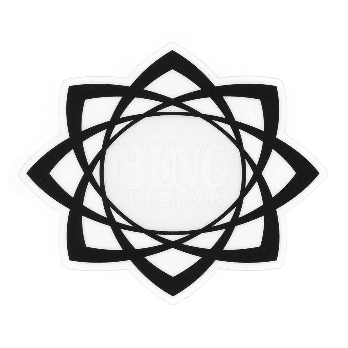Mandala Sticker - Black