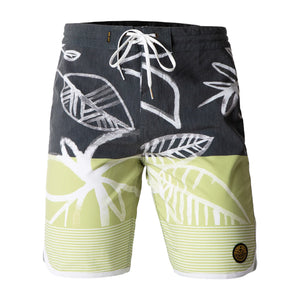 MALACHITE BOARDSHORT BLACK/GREEN