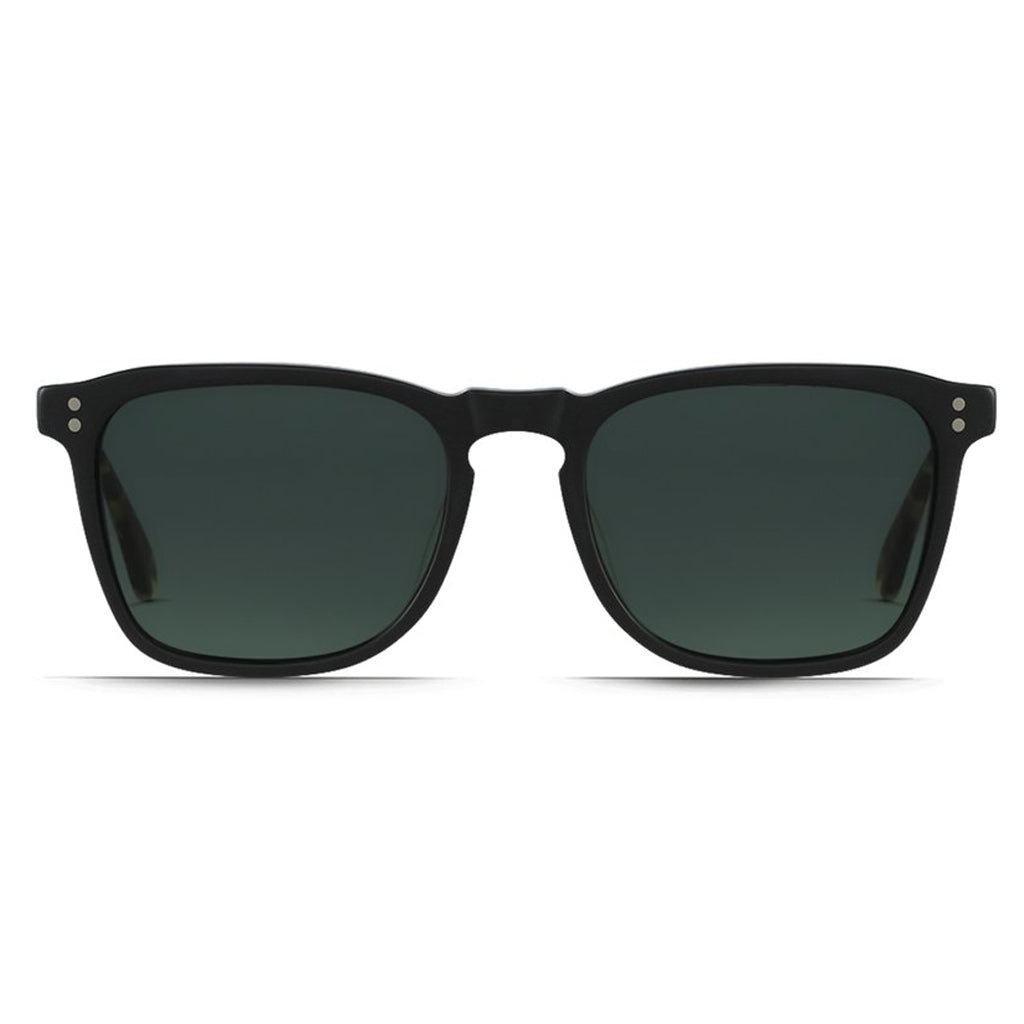 WILEY MATTE BLACK + MATTE BRINDLE/GREEN POLARIZED
