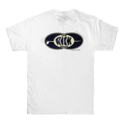 RICK DOUBLE BUBBLE STANDARD TEE WHITE