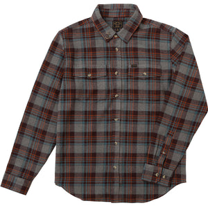 AWOL SHIRT GRAY/BROWN