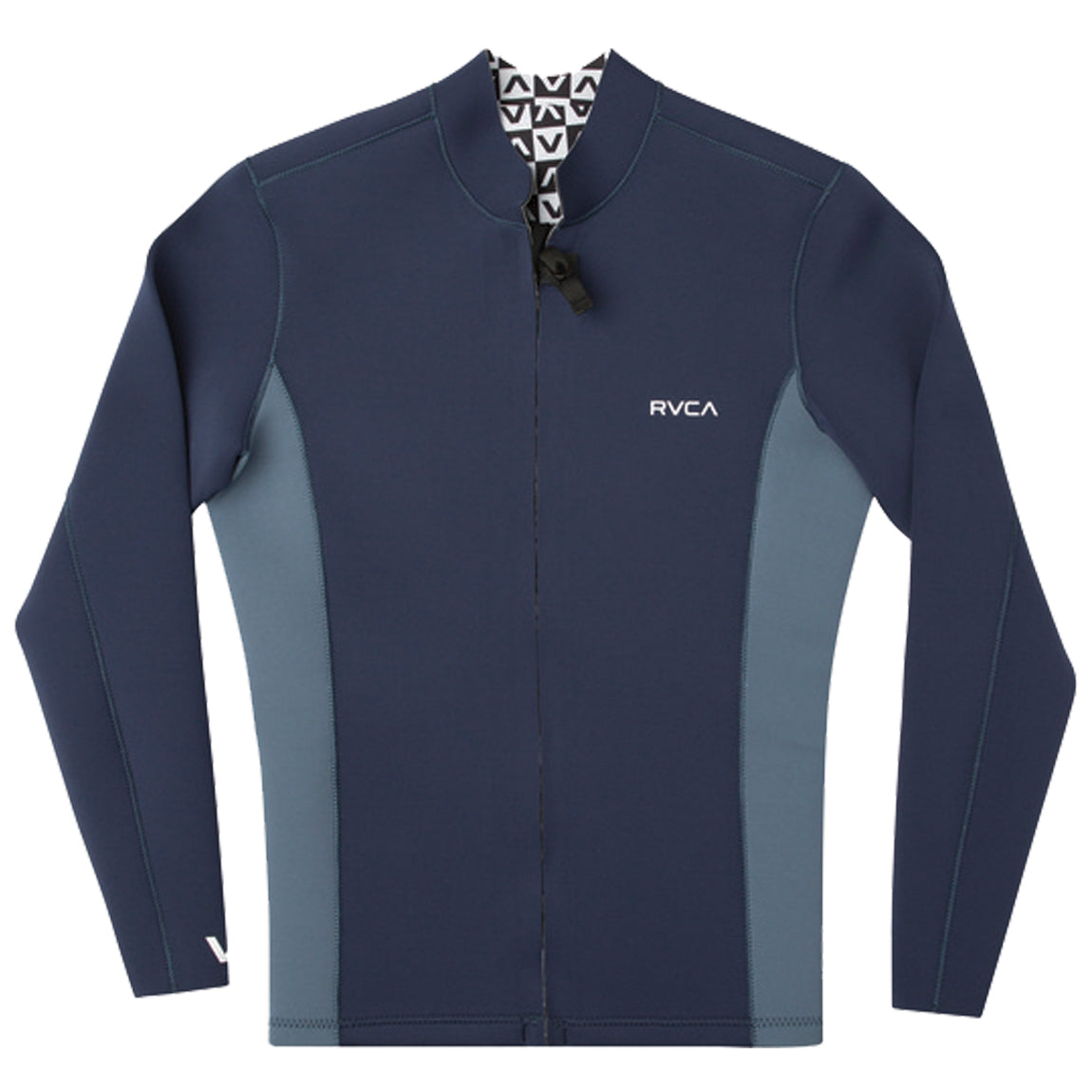 ANCELL 2MM FRONT ZIP JACKET NAVY