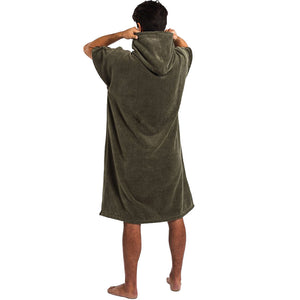 THE DIGS PONCHO GREEN