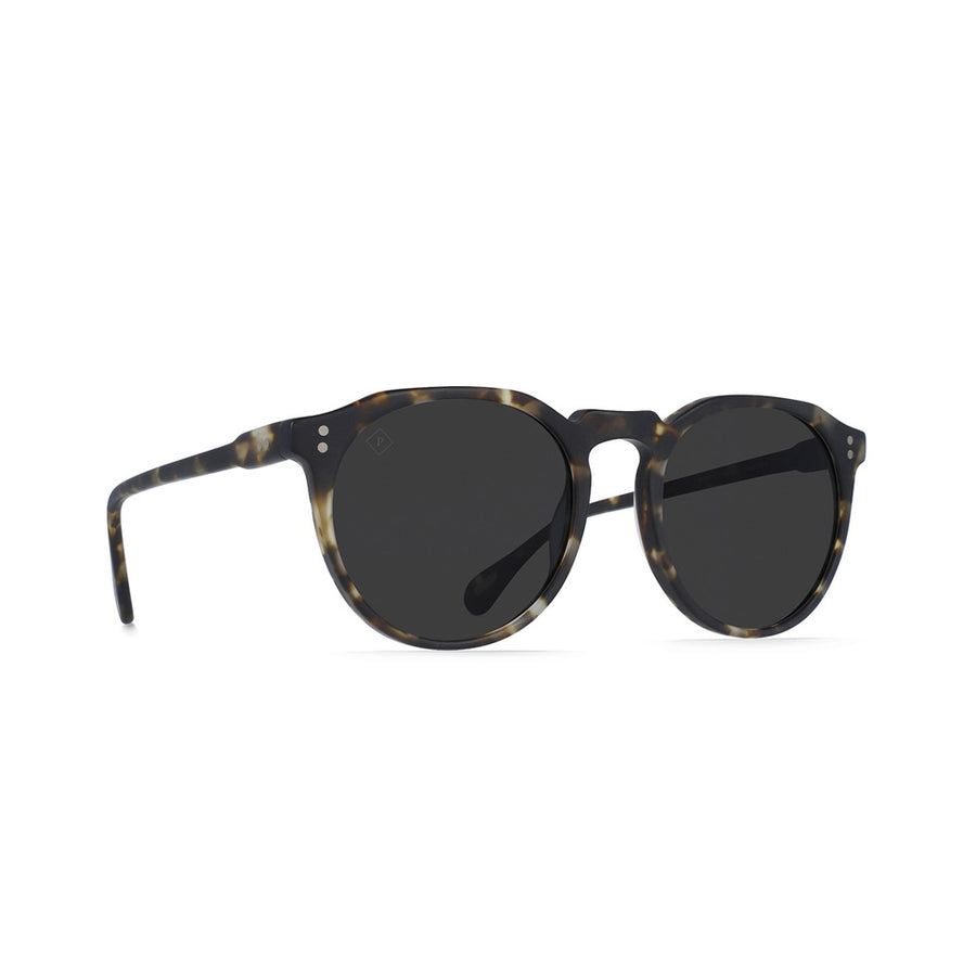 RAEN REMMY 52 Sunglasses Matte Brindle Tort/Smoke Polarized