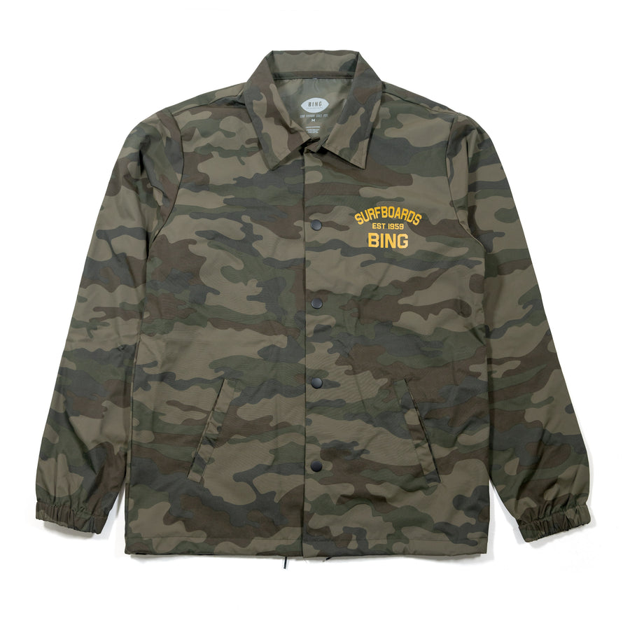 EST 1959 COACHES JACKET FOREST CAMO