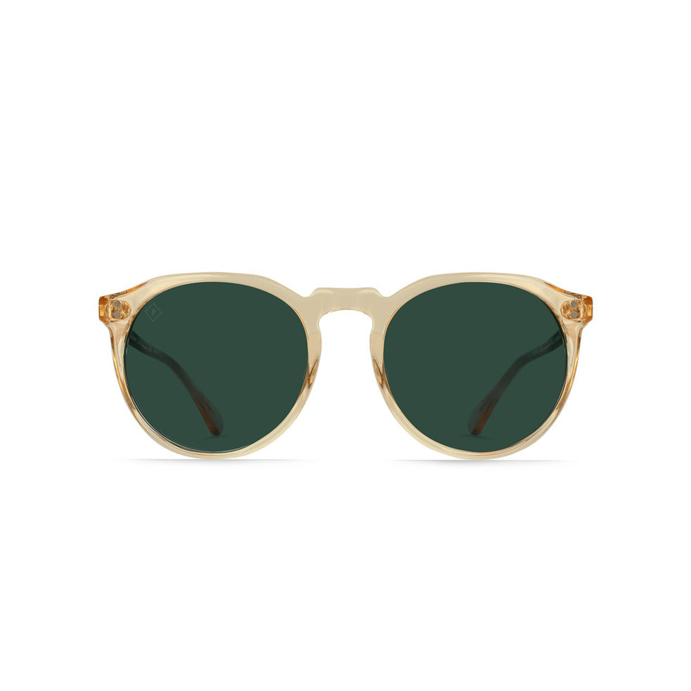 RAEN REMMY 52 Sunglasses Champagne Crystal/Green Polarized