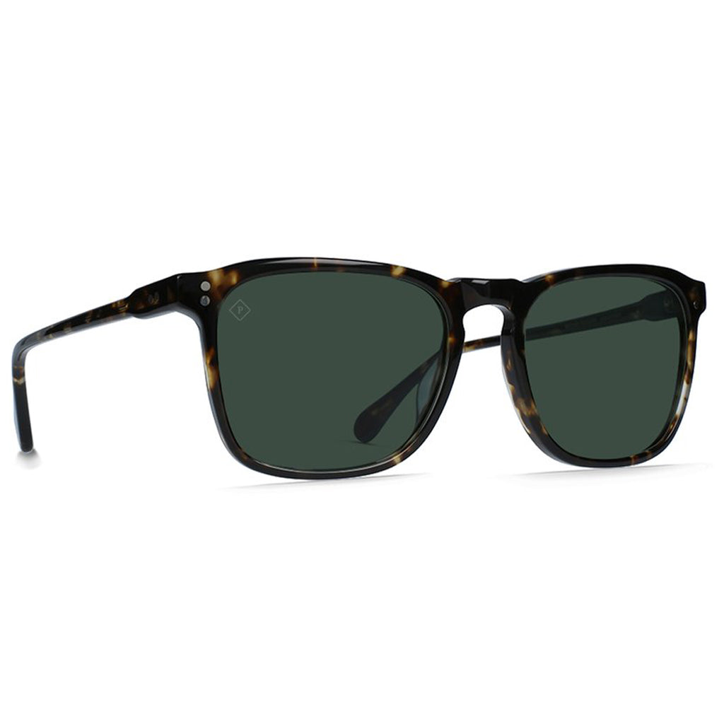 WILEY BRINDLE TORTOISE/GREEN POLARIZED