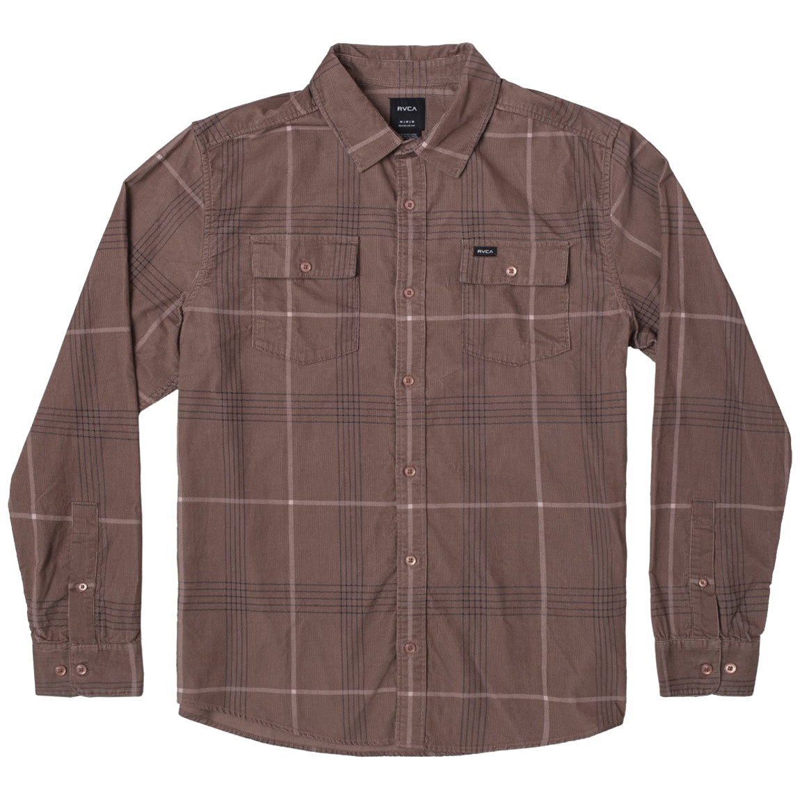 BLUES WALK CORD LONG SLEEVE RUST
