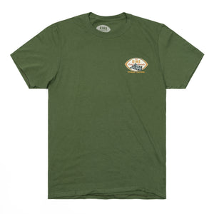 Bing Planer Premium S/S T-Shirt - Military Green